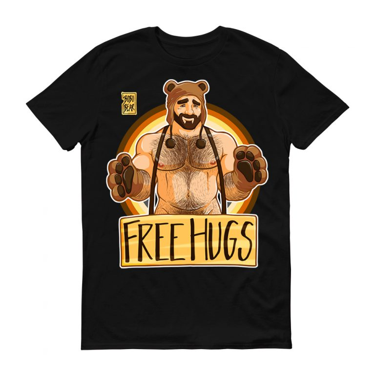 Camiseta Hugs Bear Pride