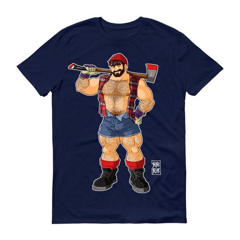 Camiseta Lumberjack Navy