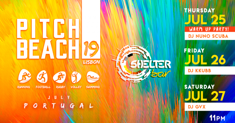 Pitch Beach 19 - Official Parties