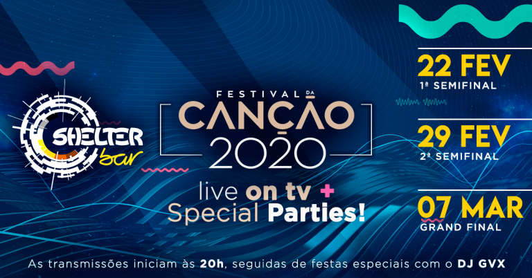 FESTIVAL DA CANÇÃO 2020 - Live on TV